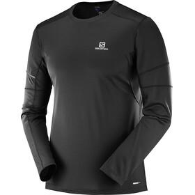 Salomon Agile Running Shirt longsleeve Men black